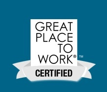 A Great Place to Work Certified